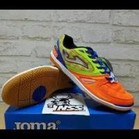 Sepatu Futsal Joma Salamax Orange-Green Smaxw.608.In Terbatas