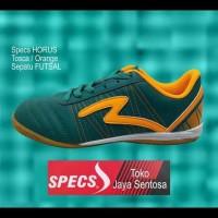 Sepatu Futsal Specs Horus In Tosca/Orange - Hijau Tosca, 43 Sale