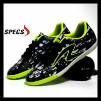 Sepatu Futsal Pria Specs Barricada Ultima Hitam Hijau Promo Special