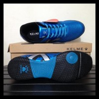 Sepatu Futsal Kelme Star Evo Sky Blue Silver 1103003 Original Bniib