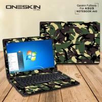 Garskin Laptop Cover Asus A43SD-VX627D A43SD-VX629D A43SD-VX643D Fullb