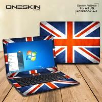 Garskin Laptop Cover Asus A43SD-VX693D A43SD-VX694D A43SD-VX748D Fullb