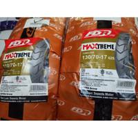 Ban Motor FDR Paket 110/70-17 & 130/70-17 Maxtreme Tubeless Supermoto