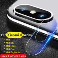 Xiaomi Mi8 Mi 8 SE EXPLORER - Camera Lens Soft Clear Tempered Glass