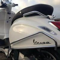 Aksesoris Vespa Crashbar Model Vako Buat Vespa Primavera dan New Sprin