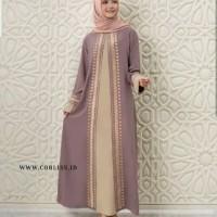 baju gamis muslim dubai abaya dress maxi bordir