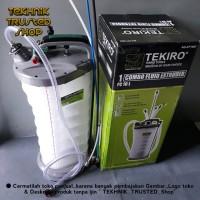 Sedot vacuum oil suction/Fluid extractor/pneumatic & manual 10L/TKR1