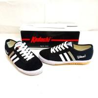 KODACHI - 8111 Hitam /Sepatu badminton Anak Cowok & Cewek size 34-36