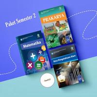 Paket Buku Semester 2 SMP Kelas 7 IPA, PRAKARYA DAN MATEMATIKA