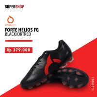 Sepatu Bola ORTUSEIGHT FORTE HELIOS FG BLACK/ORTRED