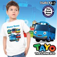 Baju / Kaos Anak / Laki - Laki / Perempuan / Tayo