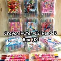 Crayon Putar Pendek Karakter Cars Princess My little Pony Avengers