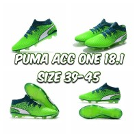 puma tendow hijau sepatu bola
