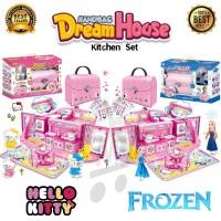 TokoJustin HandBag Dream House Kitchen Set Hello Kitty dan Frozen