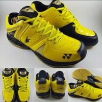 Sepatu Badminton Yonex Power Cushion SC 6 LD Lindan Yellow Black Kunin