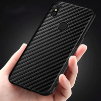 Samsung A50 Soft TPU Carbon Fiber Protect Back Cover Case