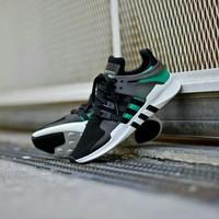Sepatu Adidas Eqt Support Adv Green Black Premium Original BNIB