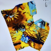 Setelan Baju Pantai Anak Laki-Laki Baju Anak Cowok Rayon Bali kode-G