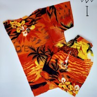Setelan Baju Pantai Anak Laki-Laki Baju Anak Cowok Rayon Bali kode I