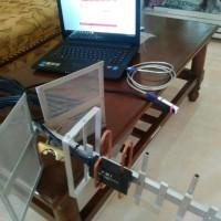 Outdoor Antena Modem Dan Hp-Penguat Sinyal 2G 3G 4G-Yagi All Operator