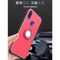 Case Armor Ring Magnetic Casing Xiaomi Redmi Note 7