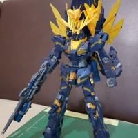Bandai MG 1/100 Gundam Unicorn Banshee norn (sudah rakit)