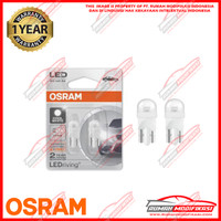 OSRAM - T10 - W5W - LAMPU SENJA - CABIN - LED - WHITE - FS