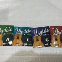 Senar gitar ukulele satu set 4 senar