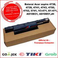 Baterai Battery Laptop Acer Aspire 4738 4739 4741 4743 4750 4752 4755