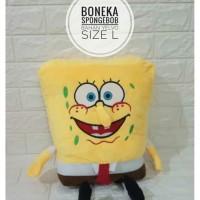 Boneka Bantal Sponge Bob Size L Boneka Spongebob Bahan Halus Yelvo