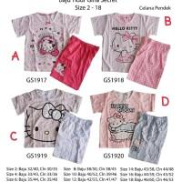 Piyama Anak dan Dewasa Gina Secret Hello Kitty
