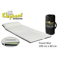 Elephant Travel Bed Rebounded (kasur lipat) + TAS +bantal 190 x 80 x 6