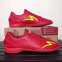 Sepatu Futsal Specs Accelerator Exocet IN Dark Red Original