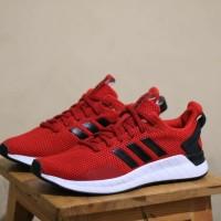 SEPATU ADIDAS QUESTAR RIDE RED BLACK ORIGINAL
