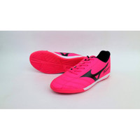 sepatu olahraga futsal mizuno fortuna warna pink sz 39-44