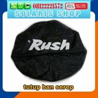 Sarung ban serep mobil rush/cover ban serep mobil rush++++++++........