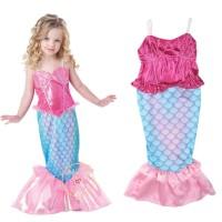 Baju Renang anak cewek - Mermaid swimsuit - baju renang mermaid - 4-9T - 7-8 tahun