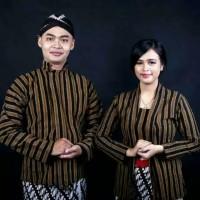 Baju Couple Surjan+Kebaya +Blangkon/Baju Adat Jawa Couple