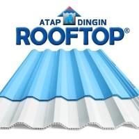 Atap uPVC Rooftop (Warna Semi-Transparan)