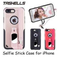 iPhone 7 Plus Tashells Built in Tongsis + Casing Cover Case Bluetooth