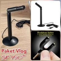 Paket Smule Vlog Broadcast ASMR Microphone Mic SF930 SF-930