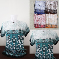 Baju bali / Baju Hawaii corak Pantai yang paling disukai baik pria mau