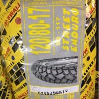 Ban Tubeless Swallow 120/80-17 Ring 17 Street Enduro SB-117 Original