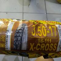 Ban Motor Swallow 3.50-17 atau 350-17 X Cross SB-111 Motocross Trail