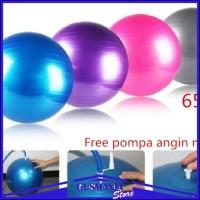 Bola Yoga / Gym Ball Balon Fitness Gym Olahraga Senam Exercise Pilates