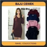 Mini Dress Artis DRESS CEWEK FASHION BAJU ATASAN BLOUSE WANITA PAKAIAN