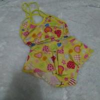 Preloved swimsuit bayi girls , second , bekas