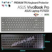 Keyboard Protector ASUS VivoBook PRO F570ZD - KAKAY Premium TPU Clear