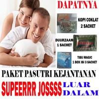 Paket P*asutri Super Jooosss | Kopi Coklat - Duurzaam - Tisu Magic