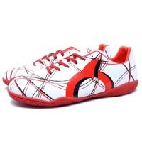 Sepatu Futsal Ortuseight Ventura IN White Red Black